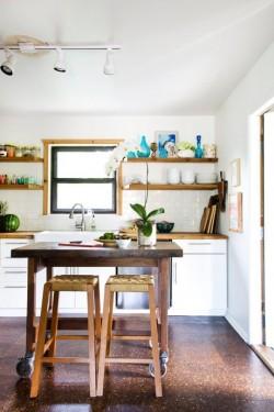 6 maneras para que tu Cocina Pequeña luzca Grande.