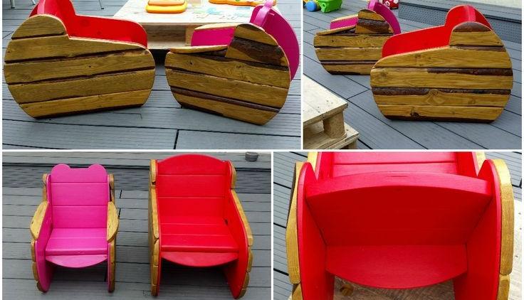 Muebles Infantiles con Palets: Una idea divertida