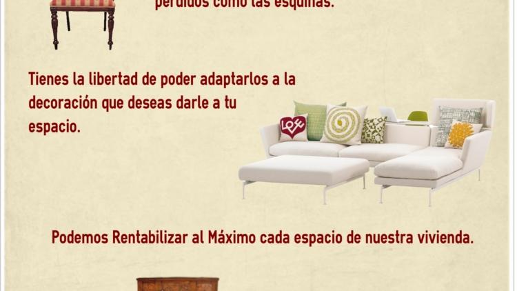 4 Razones por las cuáles elegir Muebles a la Medida [#Infografía]