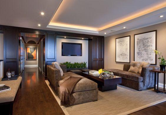 10 formas de usar Tabla Roca en la decoración de tu vivienda.